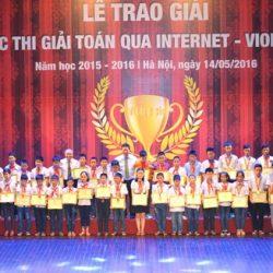 Lễ trao giải thi toán qua Internet - Violympic